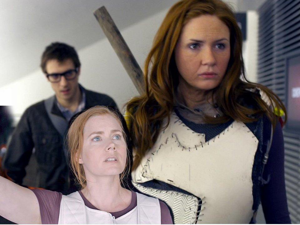 Da staunt der Rory und der Doctor wundert sich: Amy Pond und Amy Adams haben etwas mehr gemeinsam als ihren Vornamen