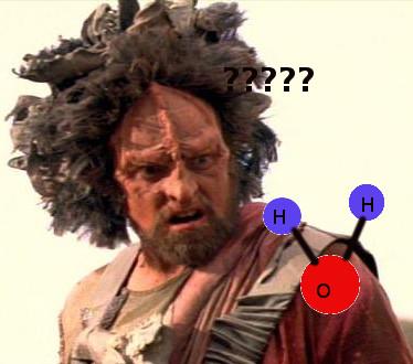 """Kein Klingone, der in die Steckdose gegriffen hat, sondern das, was Voyager unter """"fremden neuen Ausserirdischen"""" versteht. Die Kazon sind so blöde, wie sie aussehen."""